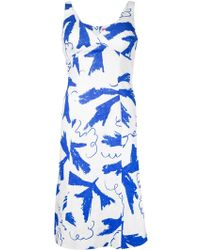 Vivienne Westwood Red Label Printed Sleeveless Dress - Lyst
