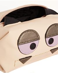 Asos Makeup Bag with Monster Face and Ears - Lyst