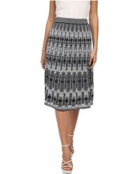 M Missoni Tie-dye Open Knit Skirt - Lyst