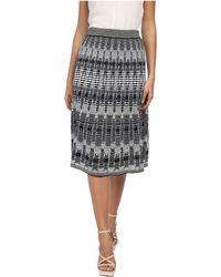 M Missoni Tie-Dye Open Knit Skirt - Lyst