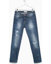 Mango Boyfriend Lucky Jeans - Lyst