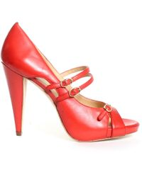 Boutique 9 Alanna Heel orange - Lyst