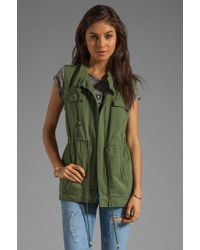 Pjk Patterson J. Kincaid X The Man Repeller Lost Boys Utility Jacket - Green