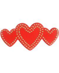 Love Moschino - Brooch - Lyst