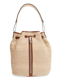 Elizabeth And James 'Cynnie' Woven Sling Backpack - Lyst