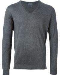 Laneus - V-neck Sweater - Lyst