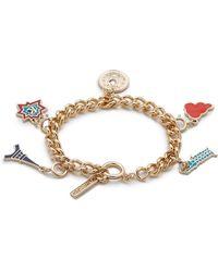 KENZO Lucky Gilt & Charm Bracelet - Multi - Multicolor
