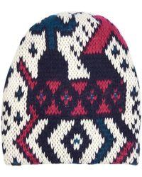 Tak.ori - Geometric Wool And Mohair-blend Hat - Lyst