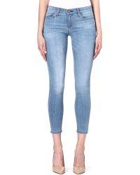Current/Elliott The Stiletto Skinny Midrise Jeans Sterling - Lyst