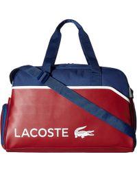 Lacoste Ultimum Duffel Bag - Red