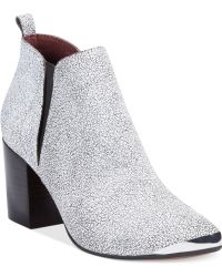 Report Signature Toby Ankle Booties - Lyst