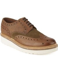 Foot The Coacher - Mens Archie V Leather Brogues - Lyst