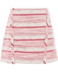 Thakoon Addition Bouclé Mini Skirt - Lyst
