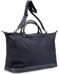 Want Les Essentiels De La Vie Hartsfield Canvas Weekend Bag - Blue