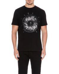 Diesel T-Ikki Cotton-Jersey T-Shirt - For Men black - Lyst