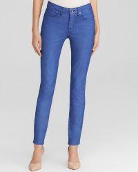 Karen Millen Skinny Jeans In Cobalt - Bloomingdale'S Exclusive - Lyst