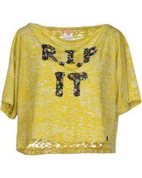 John Galliano T-shirt - Lyst