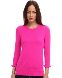 Kate Spade Pink Bekki Sweater - Lyst