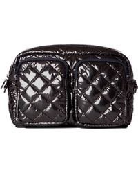 MZ Wallace - Large Savoy Cosmetic Black Lacquer - Lyst