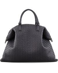 Bottega Veneta Convertible Veneta Tote Bag black - Lyst