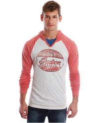 Lucky Brand - Indian Scout 101 Graphic Raglan Hoodie - Lyst