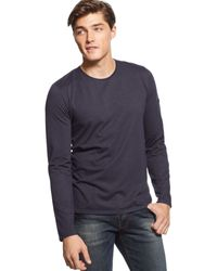Calvin Klein Jeans Denim-patch T-shirt - Lyst