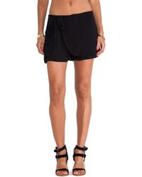 Free People Solid Sarong Short - Lyst