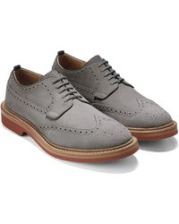 Cole Haan & Todd Snyder Hammond Wing Oxford In Ironstone gray - Lyst