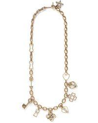 Lanvin '125 Charms' Multi Charm Pendant Necklace - Lyst
