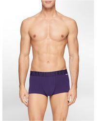 Calvin Klein Underwear X-Micro Low Rise Trunk - Lyst