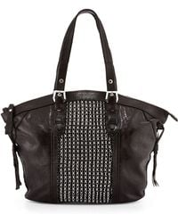 orYANY Betsy Chainmail Tote Bag black - Lyst