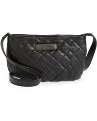 Marc By Marc Jacobs 'New Q Quilted Percy' Leather Crossbody Bag - Lyst