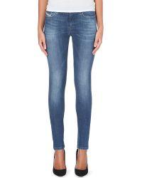Diesel Skinzee Stretchdenim Jeans Blue - Lyst