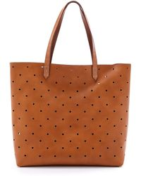 Madewell - Hole Punch Transport Tote - Burnished Caramel - Lyst