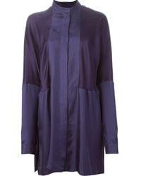 Haider Ackermann Dali Panelled Shirt - Lyst