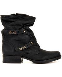 Sam Edelman Ridge Leather Boots - Lyst