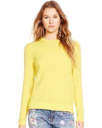 Ralph Lauren Cashmere Crewneck Sweater - Lyst