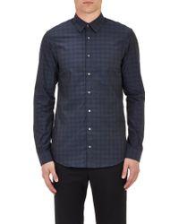 Jil Sander Plaid Poplin Dress Shirt - Lyst