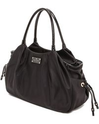 Kate Spade Kate Spade Nylon Stevie Baby Bag - Black - Lyst