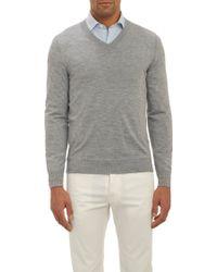 Fioroni V-Neck Pullover Sweater - Lyst