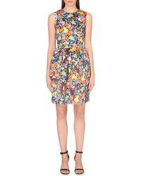 Erdem Silk Floral Dress - Lyst
