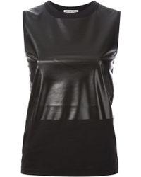 Balenciaga Contrasting Panels Top - Lyst
