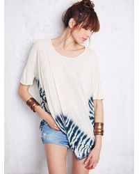 We The Free By Free People Hazy Day Tee - Lyst