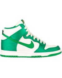 Nike Dunk High In Lucky Green - Lyst