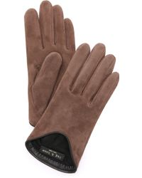 Rag & Bone Moto Gloves - Brown