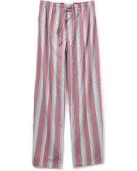 Calvin Klein Key Striped Pants - Lyst
