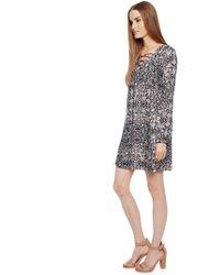 Ella Moss Yvette Printed Dress - Lyst