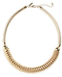 Topshop | Mesh Chain Necklace | Lyst