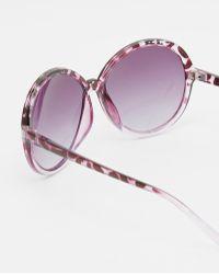M:uk - Oversized Sunglasses - Lyst