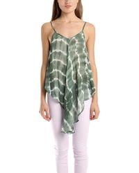Nicholas K Magee Shirt In Algae green - Lyst